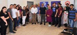 Başkan Çetin'den üniversite öğrencilerine tercih desteği