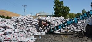 Patnos'ta dar gelirli ailelere yönelik kömür yardımı