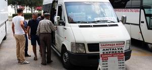 Antalya Gazipaşa arasında ekspres hat