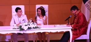 Başkan Türel sunucusunun nikahını kıydı