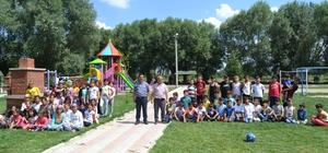 Yaz Kur'an Kursu öğrencilerinde piknik heyecanı