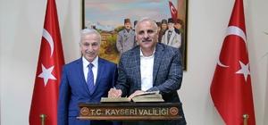 Van Valisi Murat Zorluoğlu'ndan Vali Süleyman Kamçı'ya ziyaret