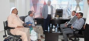 Milletvekili Özşavlı'dan Başkan Ayhan'a ziyaret