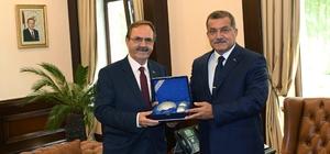 """Şahin: """"Millilik ve yerlilik bağımsızlıktır"""" Başkan Şahin'den Ankara temasları"""