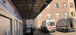 Asit yüklü tanker biri çocuk 4 kişiyi hastanelik etti