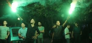 Davalık taş ocağı kapatıldı, vatandaşlar kararı meşalelerle kutladı