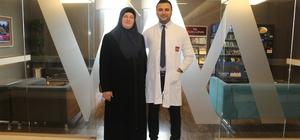 Makedonyalı hasta şifayı Kocaeli'nde buldu Makedonyalı Hajrije Bajrami 10 yıl karın ağrısı çekti Avrupa'da doktor doktor gezdi, şifayı Kocaeli'nde buldu
