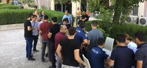 Mardin polisi sağlık taramasından geçti