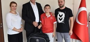 10 yaşındaki Mehmet Efe'nin gözü Türkiye ve dünya şampiyonluklarında