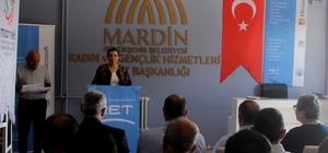 Kadınlara yönelik bilgisayar kursu açıldı Mardin Büyükşehir Belediyesi, kadınlara yönelik bilgisayar kursu açtı