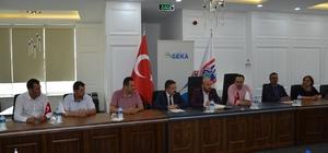 GEKA'da Fizibilite Etüdü projesi için imzalar atıldı