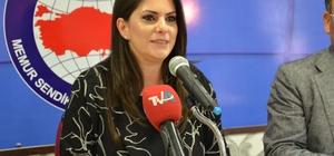 """Sarıeroğlu: """"Adana'da AK Parti belediyeciliğini getirmek için var gücümüzle çalışacağız"""" AK Parti Adana Milletvekili Jülide Sarıeroğlu, Memur-Sen Adana Şubesi'ni ziyaret etti"""