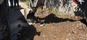 Körpeşler mahallesinde su hatları yenileniyor