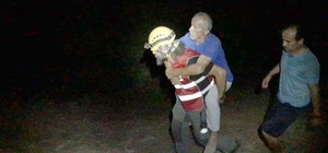 Kayıp olan yaşlıyı Akut ekipleri buldu