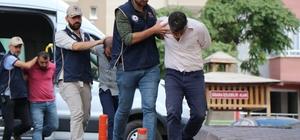 Kayseri'deki PKK/KCK operasyonu Operasyonda gözaltına alınan aralarında HDP milletvekili adayının da bulunduğu 4 kişi adliyeye sevk edildi