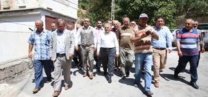 Güzelköy'de Damla Sulama ile tarımda verimlilik artacak