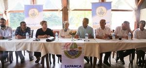 Sosyal İşler Müdürleri Sapanca'da toplantıda bir araya geldi