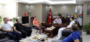 Tuğ Amiral Manioğlu, Ereğli TSO'ya veda ziyareti