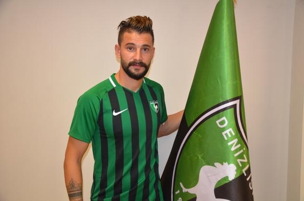 Mehmet Taş Denizlispor'da Taş kendisini 1 yıllığına Denizlispor'a bağlayan anlaşmaya imza attı