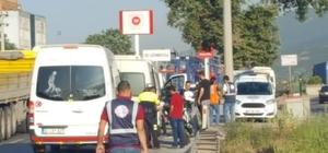 Gebze'de korsan taşımacılık yapan 38 araç bağlandı 200 servis minibüsünden, 63'ünün sürücüsüne para cezası kesildi