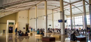 Ağrı Ahmed-i Hani Havalimanı 29 bin 965 yolcuya hizmet verdi