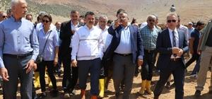 """Bakan Pakdemirli: """"Ordu'da ve Antalya'da üreticinin zararı devlet tarafından karşılanacak"""" Tarım ve Orman Bakanı Bekir Pakdemirli: """"Zararın bin 100-bin 200 ton civarında olduğu yönünde"""""""