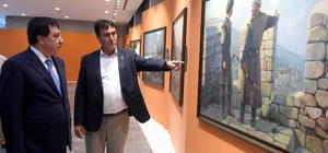 Vali Küçük, Panorama 1326 Fetih Müzesi'ni gezdi