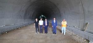 Vali Tavlı, Gelibolu-Eceabat Tünellerinde incelemelerde bulundu