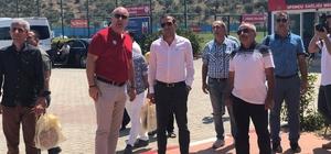 Yeni Malatyaspor ile Altınordu kulüpleri arasında dostluk köprüsü