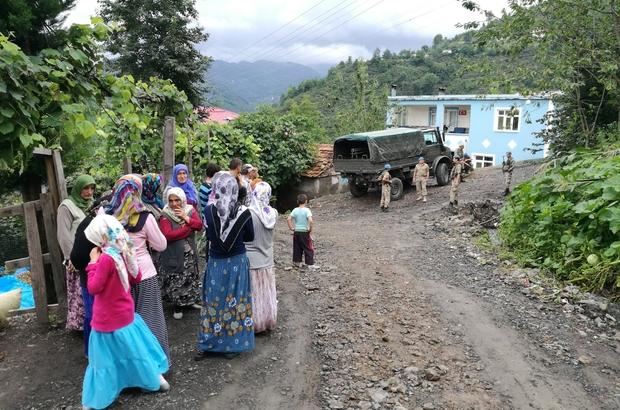 Orduda 18 ev boşaltıldı 42