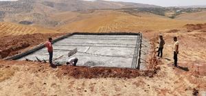 Siirt'te sokak hayvanları için barınak yapımına başlandı