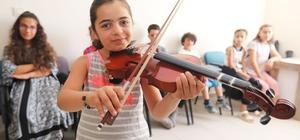 Van'da ücretsiz enstrüman kurslarına yoğun ilgi