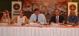 Baro Başkanları Didim'de bir araya geldi