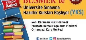 BUSMEK'ten üniversiteye hazırlık kursu