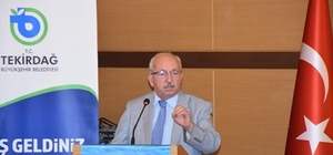 """(Özel Haber) Tekirdağ Büyükşehir Belediye Başkanı Albayrak: """"Cumhurbaşkanımızın etrafında birleşeceğiz"""""""