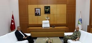 Albay Arıkan'dan Başkan Toçoğlu'na veda ziyareti