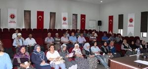 Yaşlılara destek projesi Sinanpaşa'da başladı