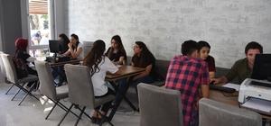 Kocasinan'ın tercih merkezine öğrencilerden tam not