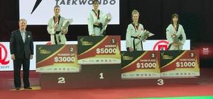 Beyşehirli milli tekvandocunun bronz madalya başarısı