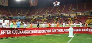 Spor Toto Süper Lig: Kayserispor: 1 - Antalyaspor: 0 (İlk yarı)