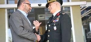 EDOK Komutanı Dalkıran'dan Üzülmez'e emeklilik ziyareti