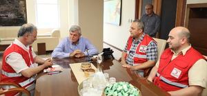 Başkan Karaosmanoğlu'ndan Kızılay'a teşekkür