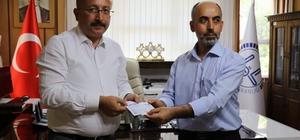 Siirt'te ilk kurban bağışı Vali Atik'ten