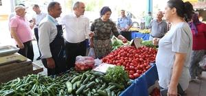Pamukkale'de pazar yerleri daha güvenli ve düzenli