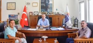 Muhtar adaylarından Başkan Atabay'a ziyaret
