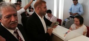 """Hataylı nakliyeciler döviz bozdurdu Hatay Uluslararası Nakliyecileri Derneği Yönetim Kurulu Başkanı İbrahim Güler: """"Hataylı nakliyeciler devletimizin yanında"""""""
