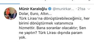 """Antalya Valisinden TL'ye destek paylaşımı """"Türk lirasına dönüştürebileceğimiz, her birimi dönüştürmek vatanımıza hizmettir"""" """"Bana soranlar olacaktır, sen ne yaptın? Türk lirası dışında param yok"""""""