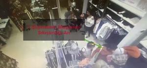 Yankesici kadınlar güvenlik kamerasına yakalandı