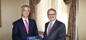 """Sırp Büyükelçiden Antalya itirafı Sırbistan Büyükelçisi Zoran Markoviç: """"Keşke Sırbistan'da da böyle güzel destinasyonlarımız olabilse"""""""