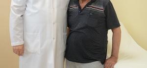 Vücudu balonlaşan hasta PAÜ'de tedavi edildi